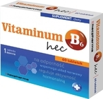 Vitaminum B6 hec 10mg 60 tabletek - miniaturka