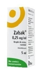 Zabak krople do oczu 0,25mg/ml 5ml - miniaturka