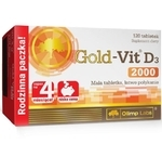 Olimp Gold-Vit D3 2000 120 tabletek - miniaturka