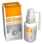 GOLDisept spray do ust i gardła 25 ml - miniaturka